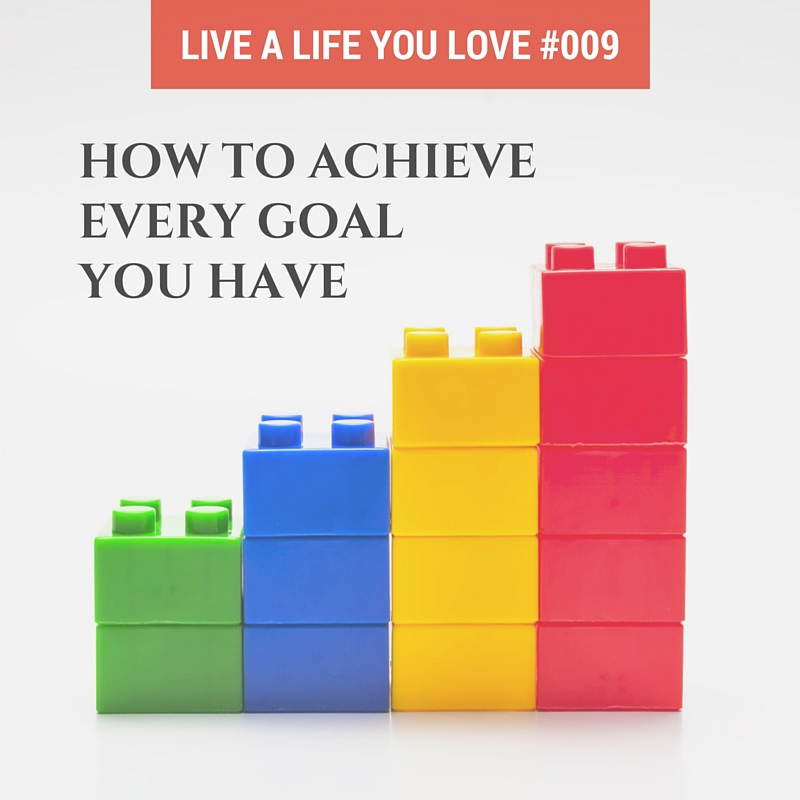 How to Achieve Every Goal You Have